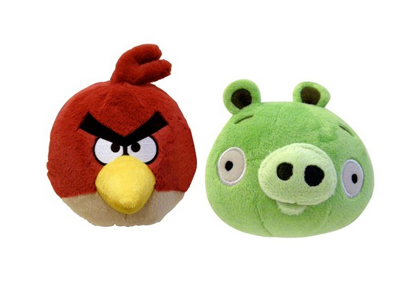 Angry Birds Toys With Sound : Angry birds inches plush toy with sounds assortments
