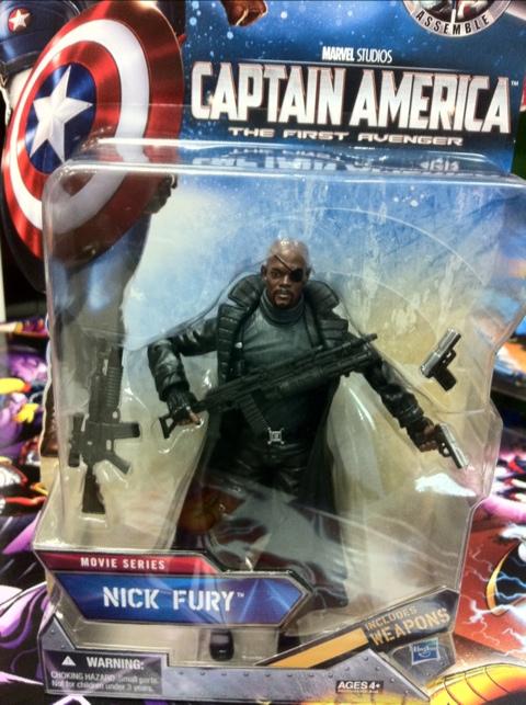 Captain America Nick Fury