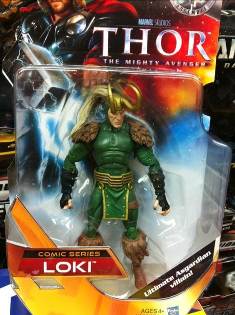 "6"" Loki Comic Series"