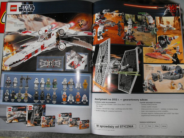 Lego Star Wars 2012