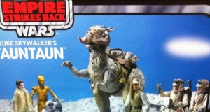 Star Wars Vintage Luke's Tauntaun and Landspeeder