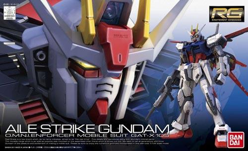 Bandai RG Aile Strike Gundam