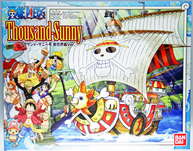 Bandai Model Kit One Piece Thousand Sunny New World Version