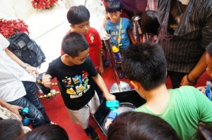 Toy Garden Beyblade Competition