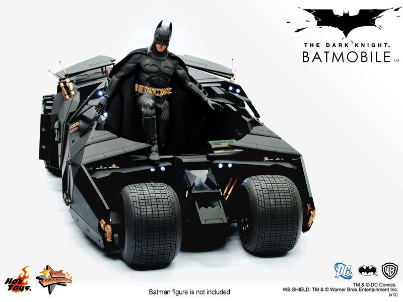 Hot Toys Batman The Dark Knight 1 6th Scale Batmobile