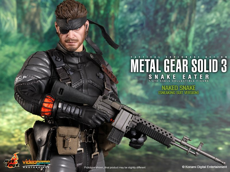 Naked Snake aus dem Videospiel Metal Gear Solid 3: Snake
