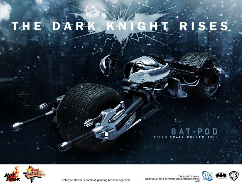 The dark knight batpod toy - photo#21