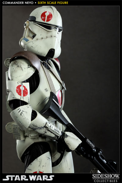 Sideshow 1 6th Scale Star Wars Commander Neyo Action
