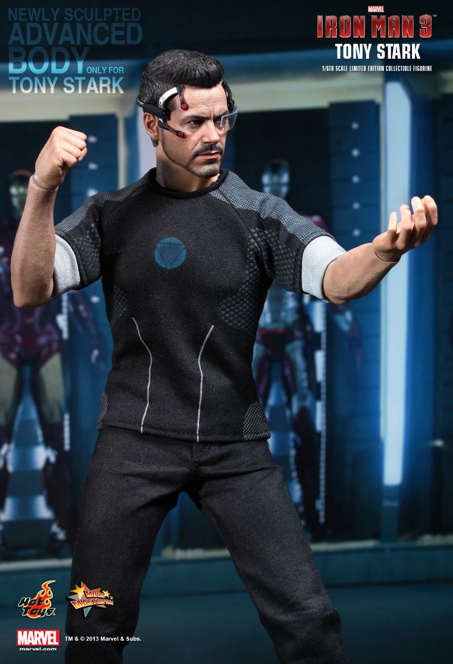 hottoys-ironman3-tony-stark-06 • Toywiz and Toy Garden
