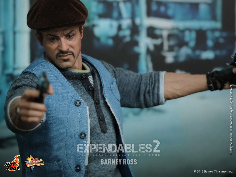 Hot Toys - The  Expendables 2 - Barney Ross Collectible Figure_PR15