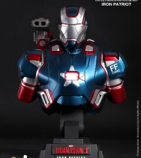 Hottoys Ironman 3 Iron Patriot Bust 01