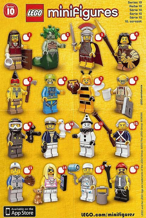 LEGO-Minifigures-Series-10