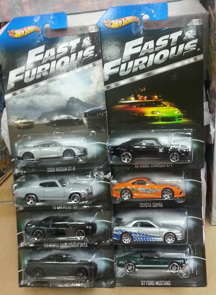 hot wheels 2013 fast furious 1 64th scale diecast cars. Black Bedroom Furniture Sets. Home Design Ideas