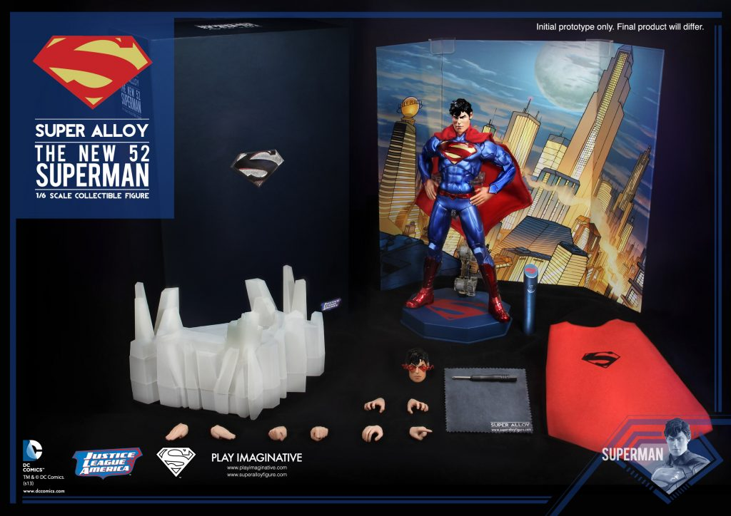 1_6 Scale The New 52 Superman (Normal Edition)_2