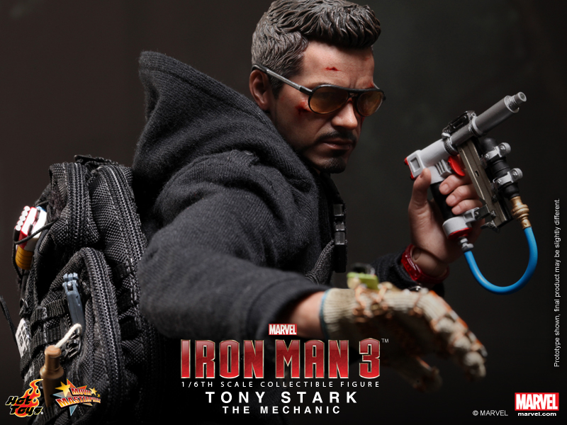 Hot Toys 1/6th Scale MMS209 Tony Stark (The Mechanic ...