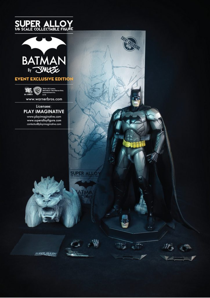 Super Alloy 16 Scale Collectable  Figure - Batman by Jim Lee (Event Exclusive)