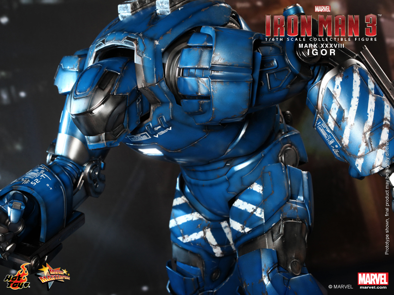 Hot toys iron man mk 21