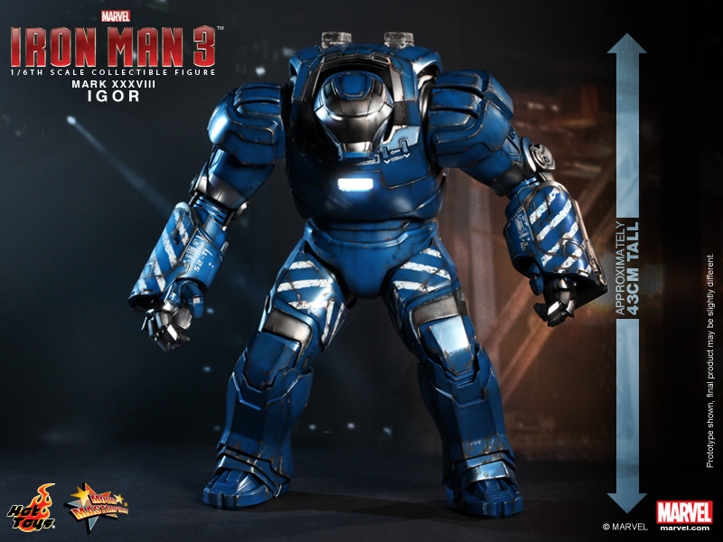 Hot Toys - Iron Man 3 -  Igor (Mark XXXVIII) Collectible Figure 16