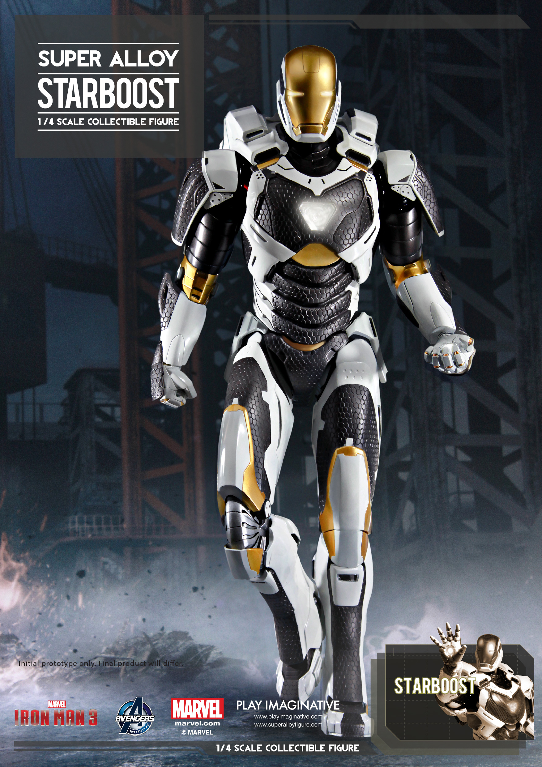Super Alloy 18-inches Starboost 02 • Toywiz and Toy Garden