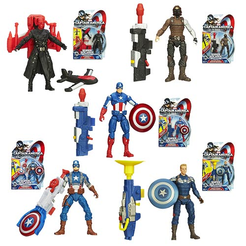 Hasbro Captain America The Winter Soldier Action Figures