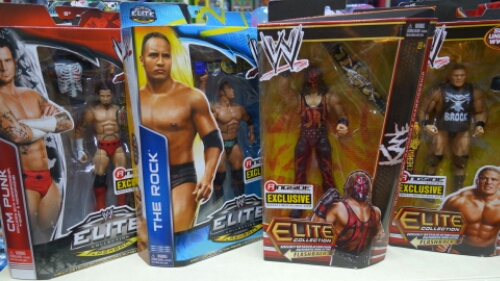 CM Punk, The Rock, Kane, Brock Lesnar