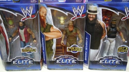 Bray Wyatt, Luke Harper & Erick Rowan