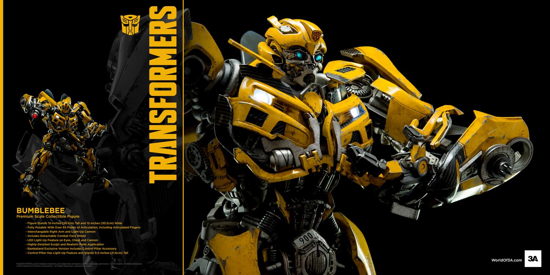 3A ThreeZero x Transformers Bumblebee Figure • Toywiz and ...
