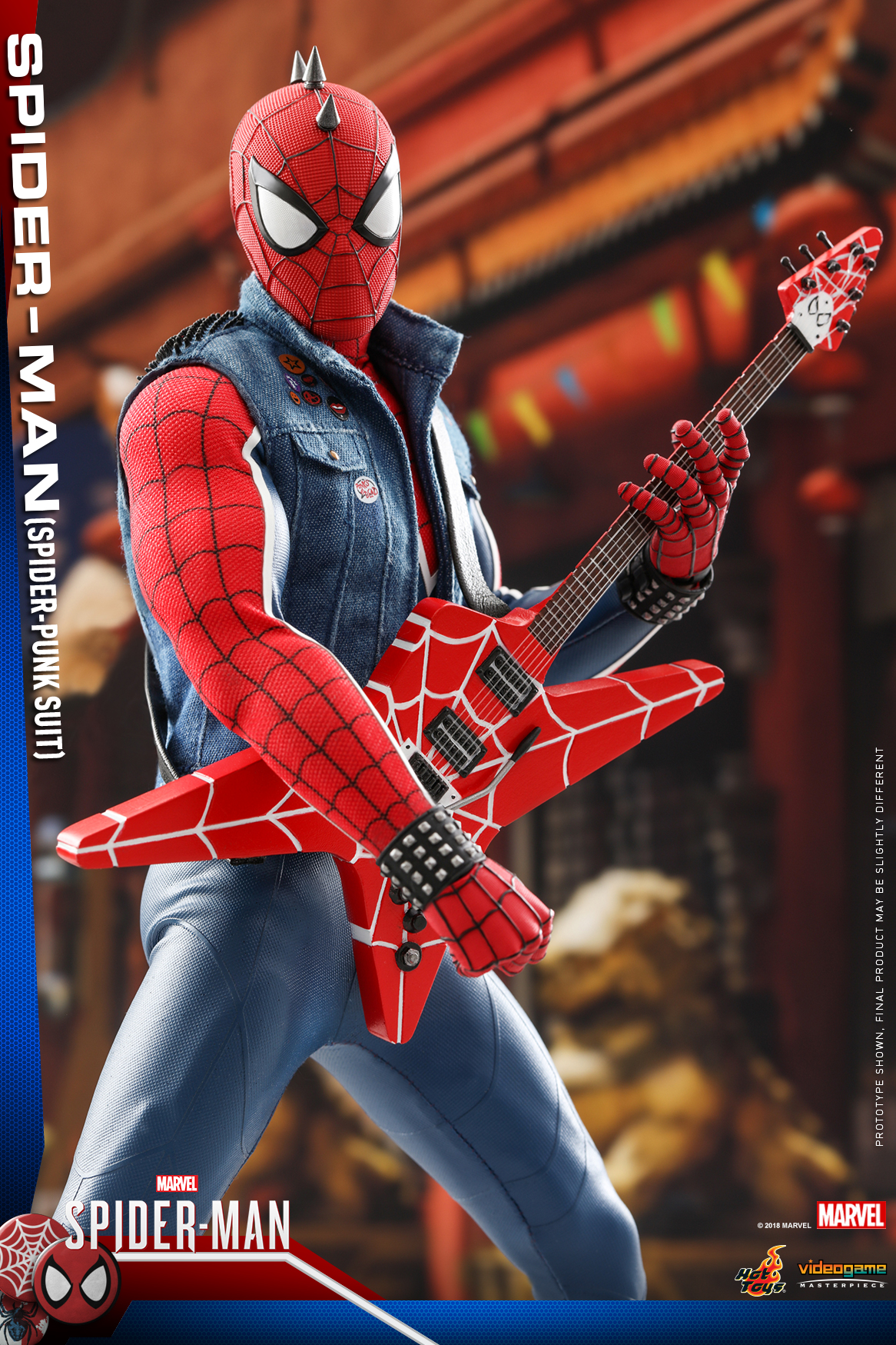 Hot toys vgm32 marvel 39 s spider man 1 6th scale - Images spiderman ...