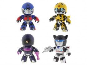 Transformers Mighty Muggs Wave 3 - Revenge of the Fallen Optimus Prime, Revenge of the Fallen Bumblebee, Shockwave & Jazz