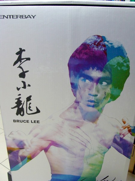enterbay-brucelee-statue