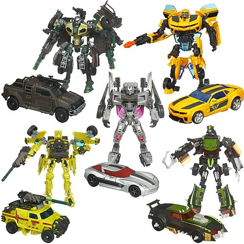 figurines transformers de luxe