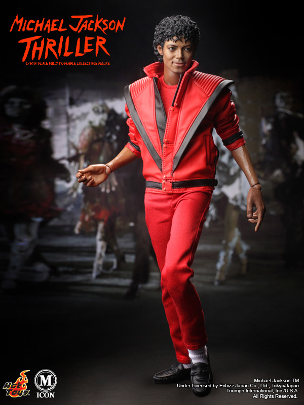 Michael jackson thriller 1 6 scale hot toys action figure for Jackson toys