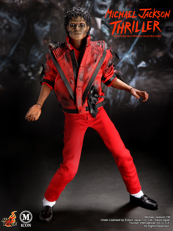Hot Toys 12inch Michael Jackson Thriller 6 Toywiz And