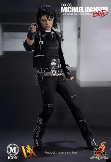 Hot toys michael jackson 1 6 scale dx action figure bad for Jackson toys