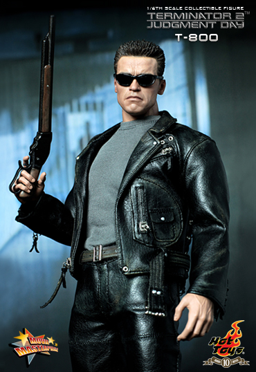 Hot Toys 1 6 Scale Terminator 2 Judgement Day T 800 Arnold