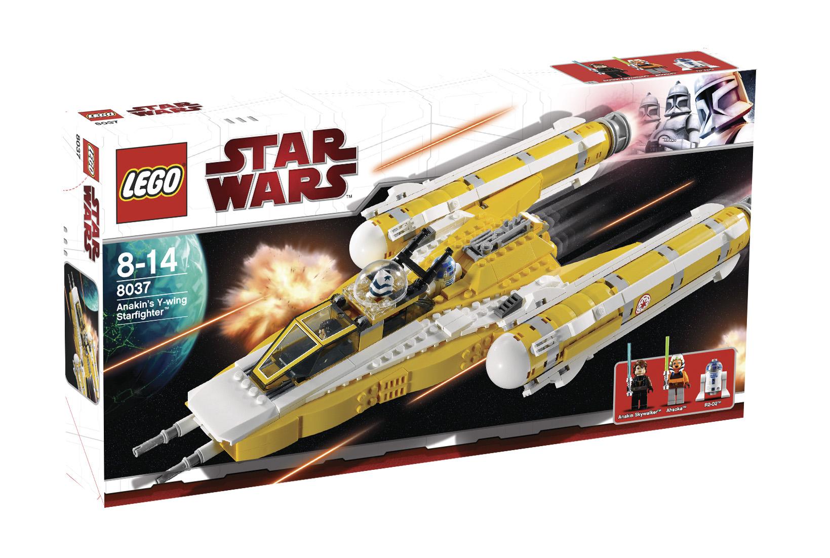 Звездный истребитель Анакина Lego Star Wars (Лего Звездные войны).