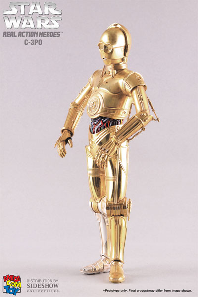 R2d2 And C3po Toys : Medicom rah star wars scale c po and r d toywiz