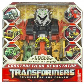Transformers 2: Revenge of the Fallen Supreme Class Devastator Figure