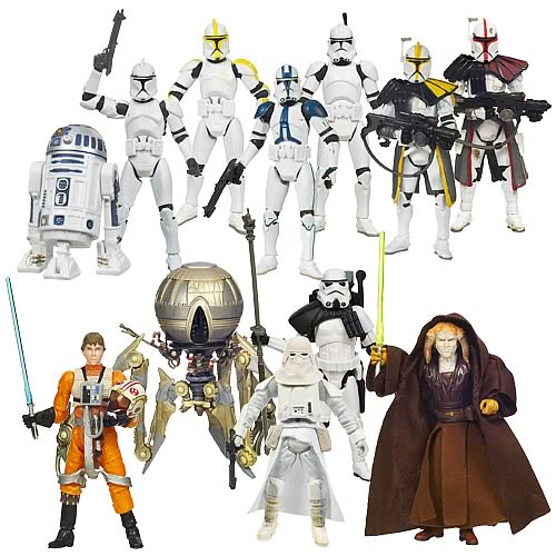 Each of these 3 3/4-inch scale plastic action figures comes with fantastic