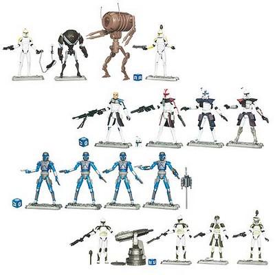 Clone Wars Battle Packs Clone Wars Battle Pack