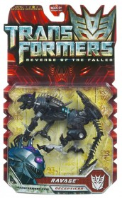 transformers rotf deluxe ravage box