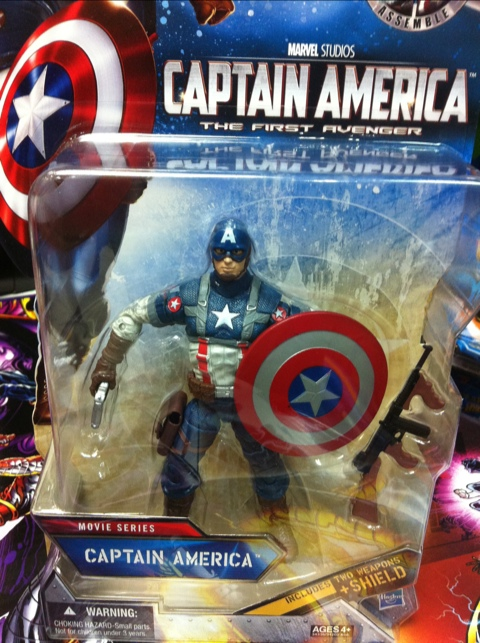 "Captain America 6"" Action Figure"