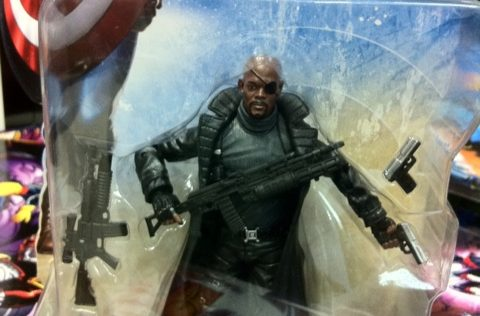 Captain America Nick Fury