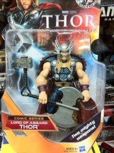 """6"""" Thor Lord of Asgard Comic Series"""