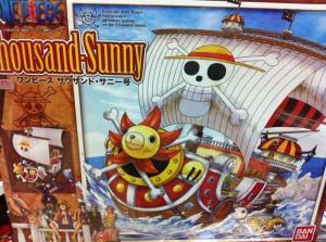Bandai MG One Piece Thousand Sunny