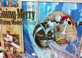 Bandai MG One Piece Going Merry Flying Model