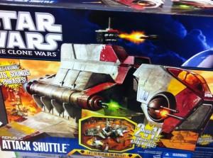 The Clone Wars Republic Attack Shuttle