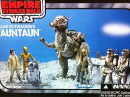Star Wars Vintage Luke's Tauntaun and Landspeeder