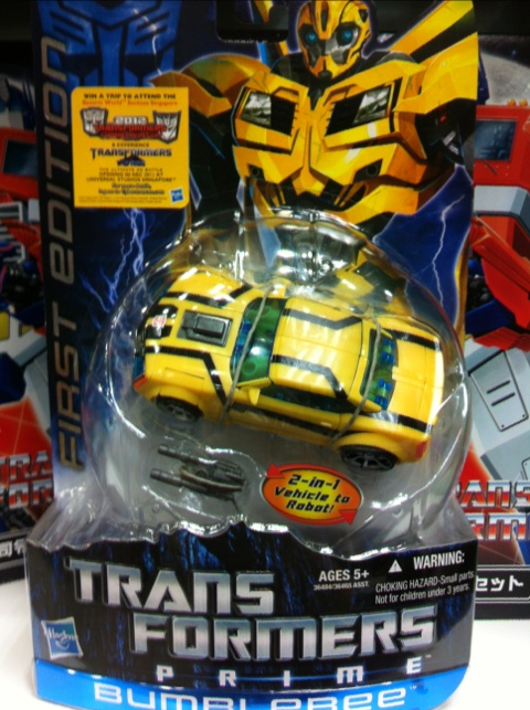 Transformers Prime Wave 1 Bumblebee