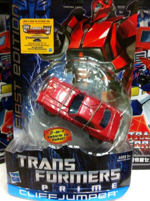 Transformers Prime Wave 1 Cliffjumper